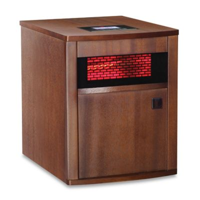 RedCore® W2 Infrared Room Heater in Mahogany