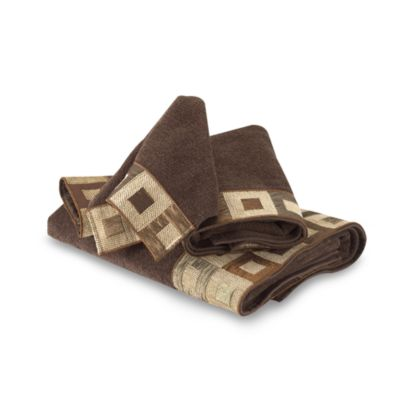 Avanti Precision Fingertip Towel in Mocha