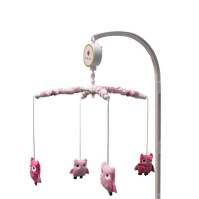 Belle Dancing Owl Crib Bedding Collection > Belle Dancing Owl Musical Mobile