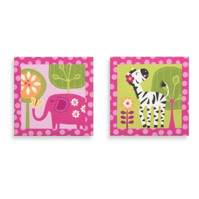 Belle Tutti Frutti 2-Piece Canvas Wall Art
