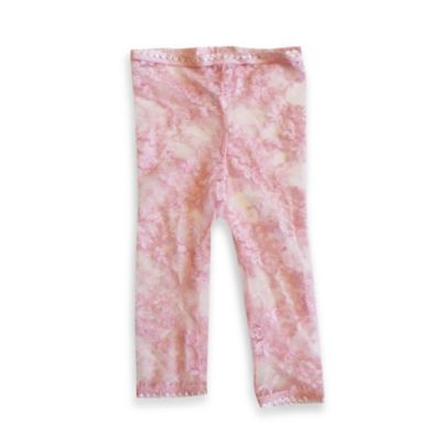 Baby Bella Maya™ Size 6-12M Lacy Leggings in Pink