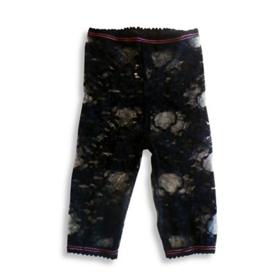 Baby Bella Maya™ Size 12-18M Lacy Leggings in Black