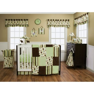 Chocolate Crib Bedding Set