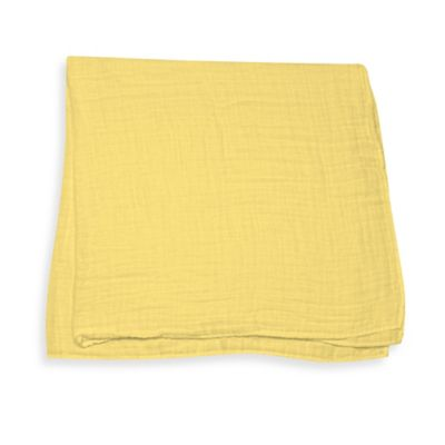 iPlay.® Brights Organic Muslin Swaddle Blanket in Yellow