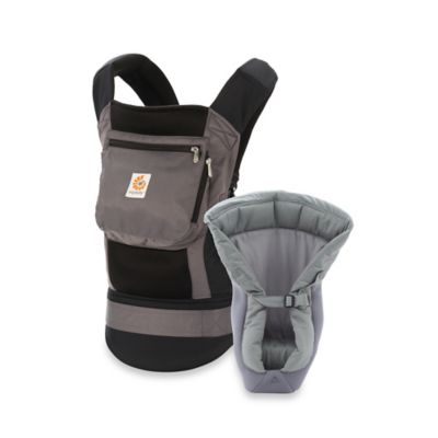 Ergobaby™ Performance Collection Bundle of Joy Baby Carrier with Mesh Insert in Black/Charcoal