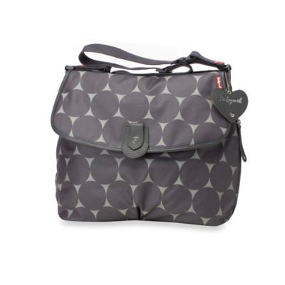 Babymel™ Satchel in Jumbo Grey Dot