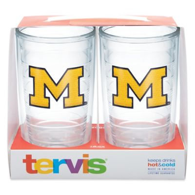 Tervis Set of 4 Tumbler University