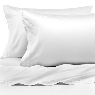 Vera Wang™ Simplicity King Flat Sheet in White