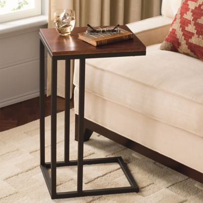 Small Black Accent Table