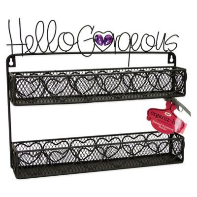 Hello Gorgeous Double Wall Shelf