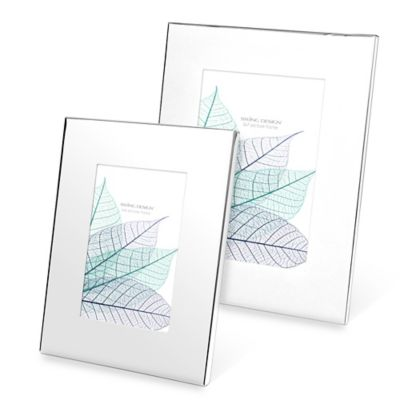 Swing Design™ Provence 8-inch x 10-Inch Frame in Silver Plate