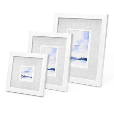 Swing Design™ Carson 7-Inch x 7-Inch Frame in White
