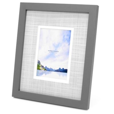 Swing Design™ Carson 5-Inch x 7-Inch Frame in Grey