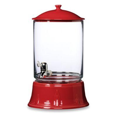 Fiesta® 17-Inch Beverage Server in Scarlet