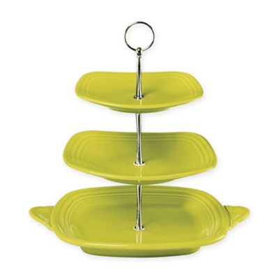 Fiesta® 3-Tier Server in Lemongrass