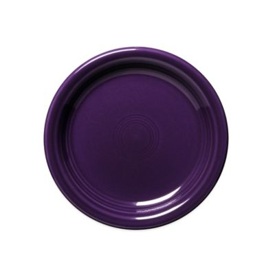 Fiesta® Appetizer Plate in Plum