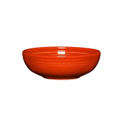 Fiesta® Medium Bistro Bowl in Poppy
