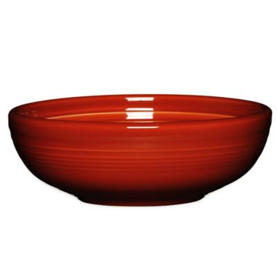 Fiesta® Medium Bistro Bowl in Paprika