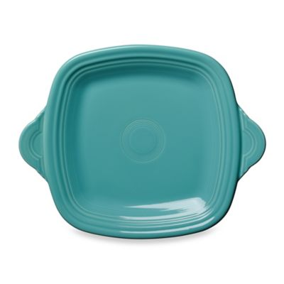 Fiesta® Square Handled Serving Tray in Turquoise