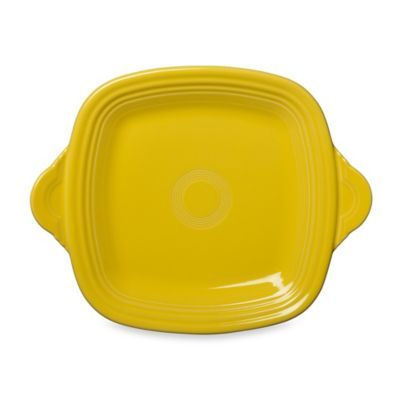 Fiesta® Square Handled Serving Tray in Sunflower