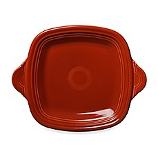 Fiesta® Square Handled Serving Tray in Paprika