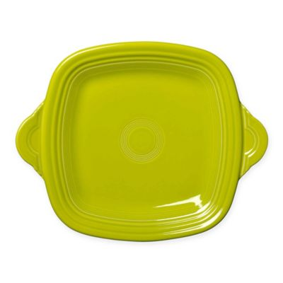 Fiesta® Square Handled Serving Tray in Lemongrass