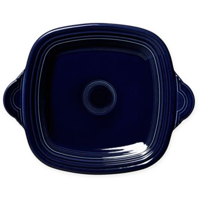 Fiesta® Square Handled Serving Tray in Cobalt Blue