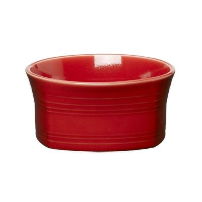 Fiesta® Square Soup Bowl in Scarlet
