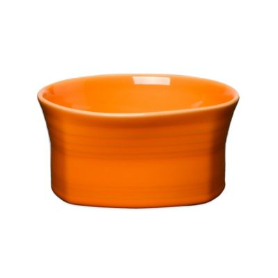 Fiesta® Square Soup Bowl in Tangerine