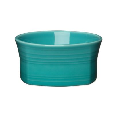 Fiesta® Square Soup Bowl in Turquoise