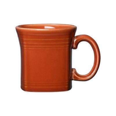 Fiesta® Square Mug in Paprika