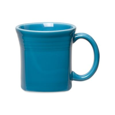 Fiesta® Square Mug in Peacock