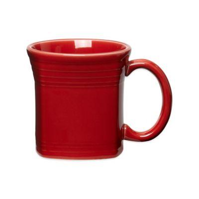 Fiesta® Square Mug in Scarlet