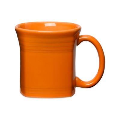 Fiesta® Square Mug in Tangerine