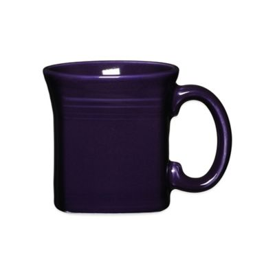 Fiesta® Square Mug in Plum