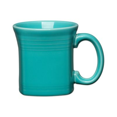 Fiesta® Square Mug in Turquoise