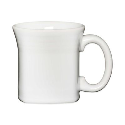 Fiesta® Square Mug in White