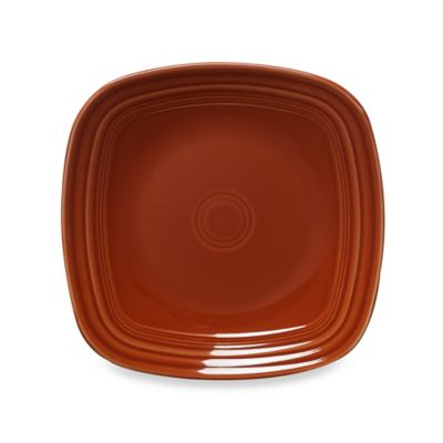 Fiesta® Square Dinner Plate in Paprika