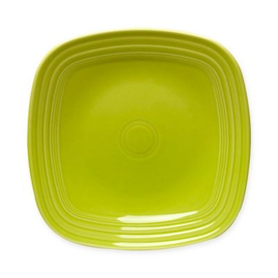 Fiesta® Square Dinner Plate in Lemongrass