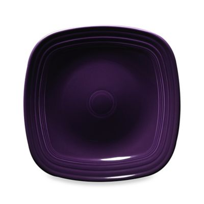 Fiesta® Square Dinner Plate in Plum