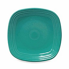 Fiesta® Square Dinner Plate in Turquoise