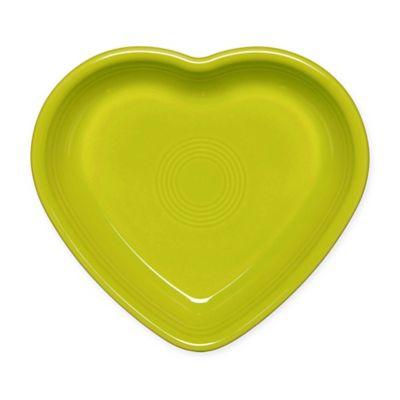 Fiesta® Medium Heart Bowl in Lemongrass