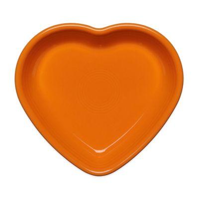 Fiesta® Medium Heart Bowl in Tangerine