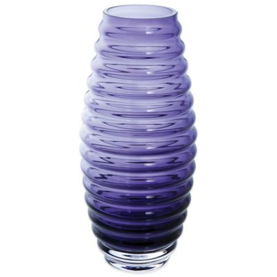 Dartington Crystal Gems Ball Vase in Amethyst