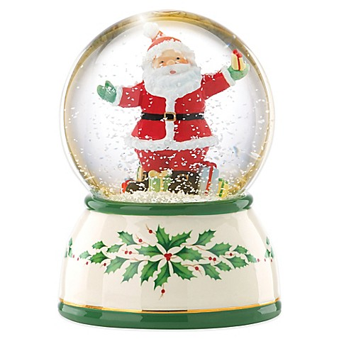 Buy Lenox 174 Seasons Celebrations Santa Lit Musical Snow