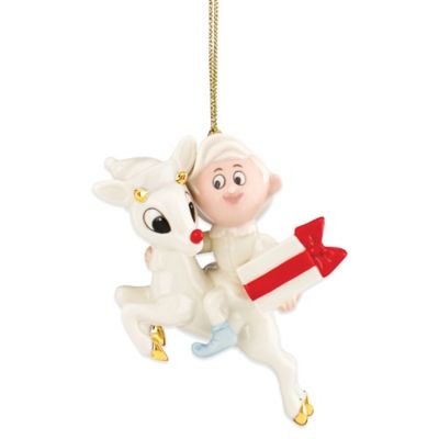 Lenox® Rudolph and Hermey Ornament