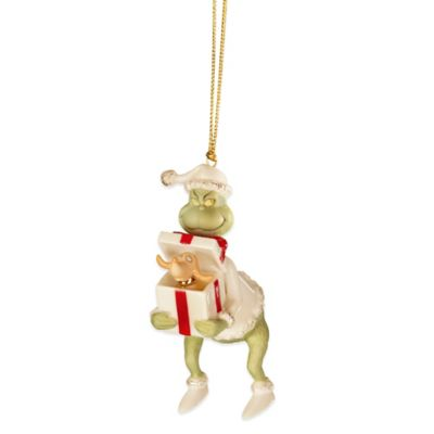 Lenox® Grinch's Perfect Present Ornament