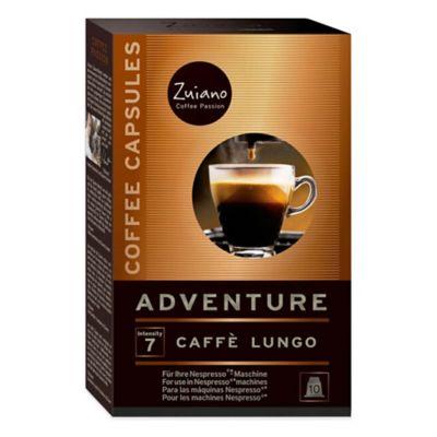Zuiano 10-Count Espresso Adventure Capsules