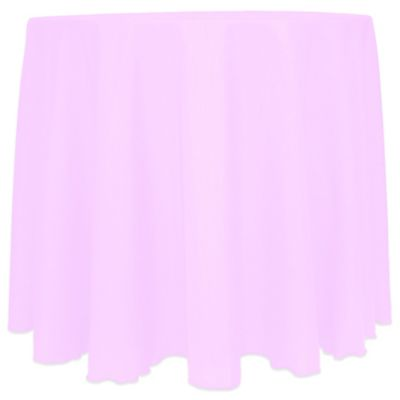 Pink Round Linen Tablecloths