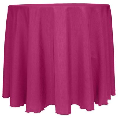 Raspberry Round Tablecloth